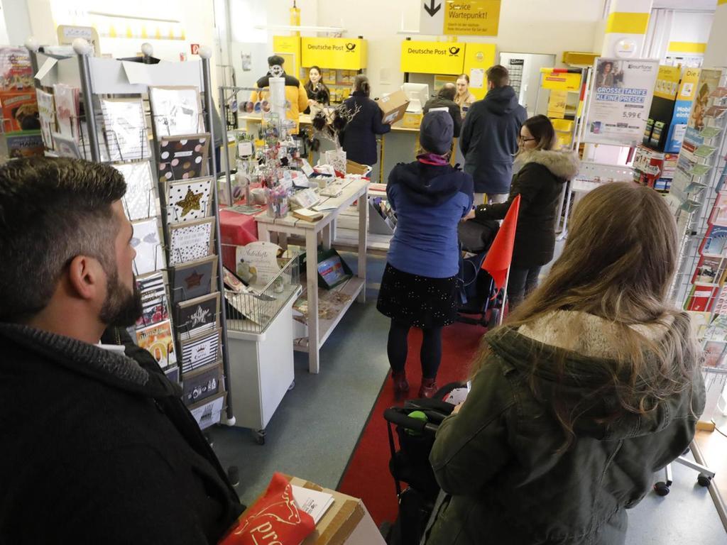 deutsche post filiale erlangen