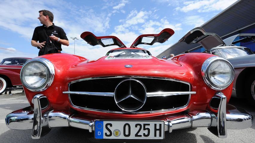 Seine Preise gehen inzwischen in die Millionen: Den Mercedes-Benz 300 SL