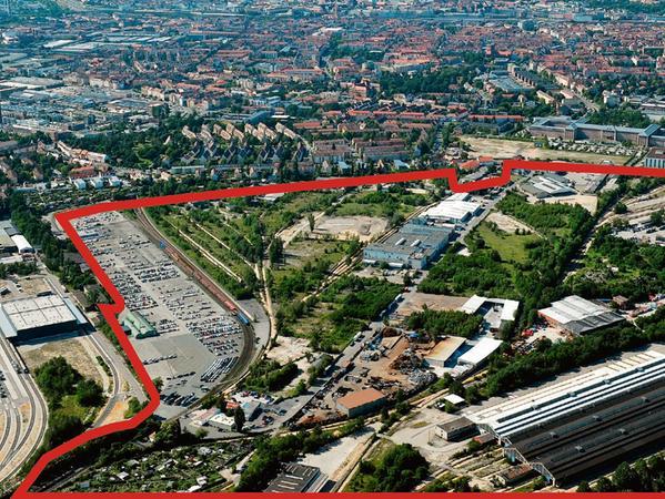 Hier soll der neue Stadtteil Lichtenreuth mit dem TUN-Campus entstehen.