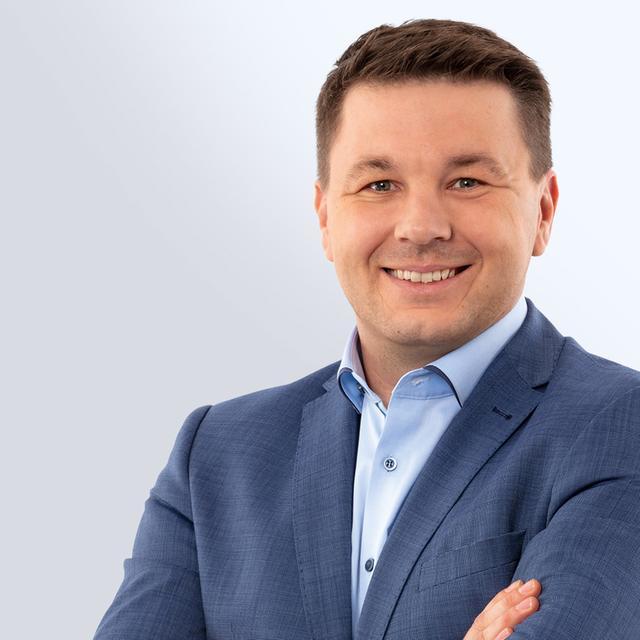 Tobias Kamm (CSU) möchte Oberbürgermeister von Weißenburg werden.