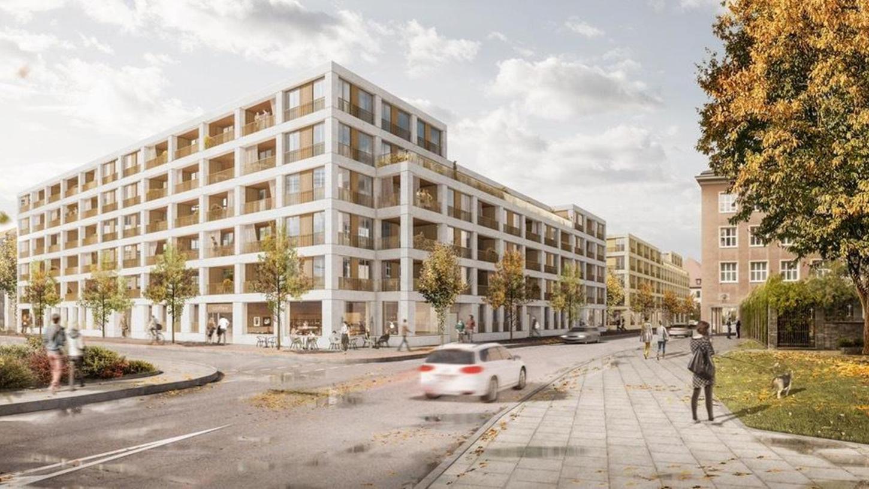 Erster Preisträger des Wettbewerbs ist das Berliner Architekturbüro Thomas Müller Ivan Reimann mit dem hier abgebildeten Entwurf.