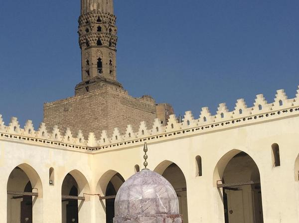 Die Al-Hakim-Moschee ist eine der schönsten in Kairo.