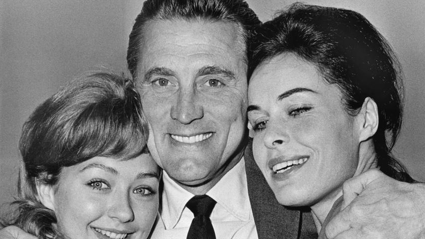 Historische Bilder: Als Kirk Douglas in Franken drehte