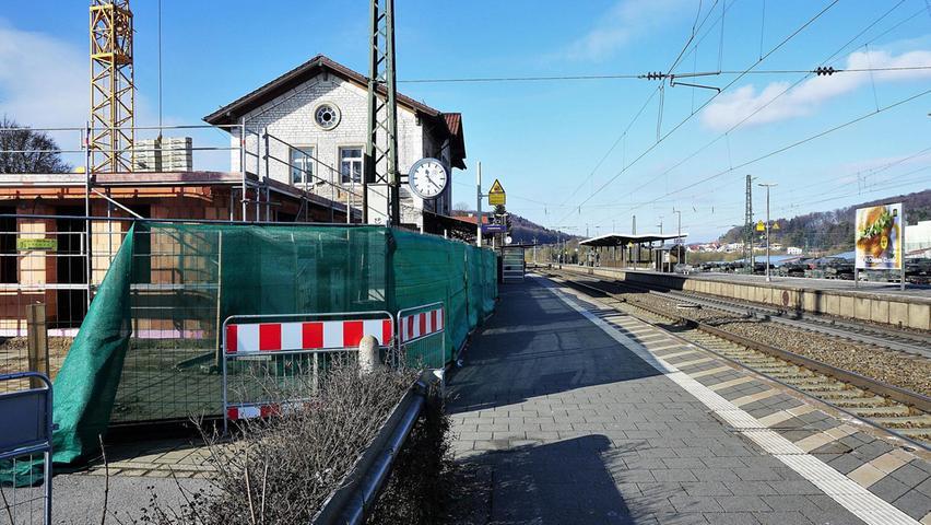 Parsberger Bahnhof hat