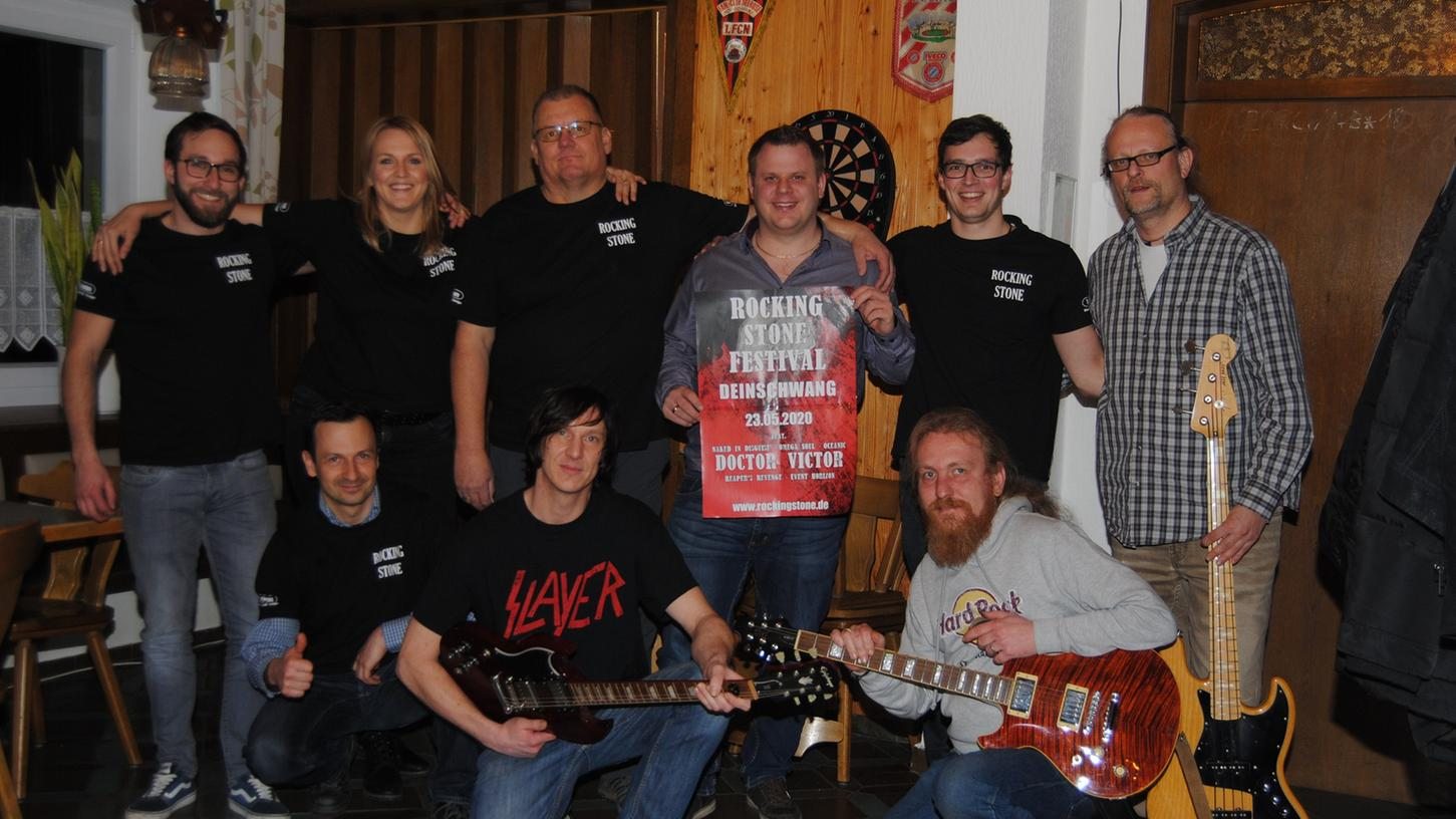 Die Organisation des Rocking Stone Festivals übernimmt wieder das bewährte Team des Heimatvereins Wurschtbachtal.
