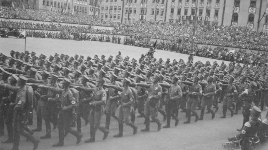 Bewegte Vergangenheit: Als Nürnberg