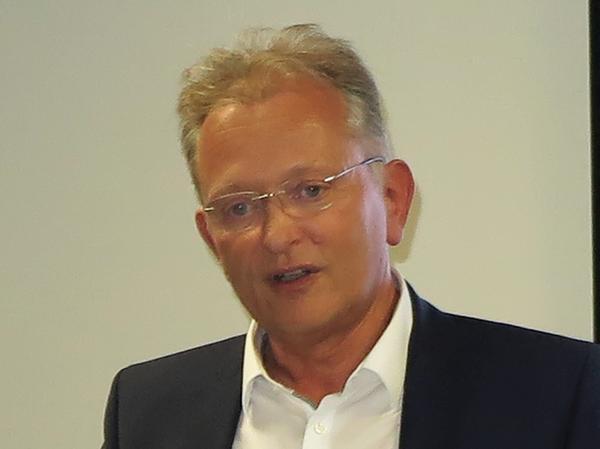 Alfmeier-Europapräsident Dr. Klaus Beetz.