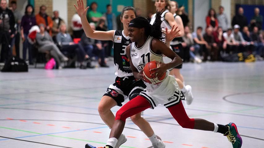 Basketball: Die Bilder vom 71:52-Erfolg der KIA Baskets Schwabach gegen Mainz
