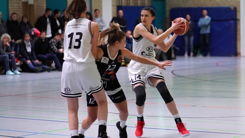 KIA Baskets Schwabach - Mainz; Basketball; Schwimmbadhalle; Foto: Salvatore Giurdanella; 16.2.2020