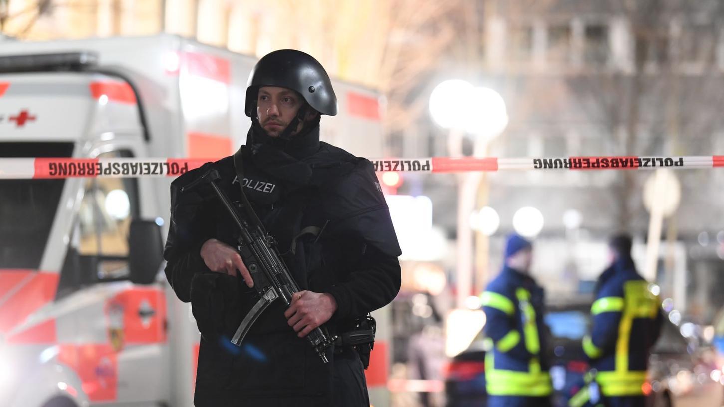 Mindestens neun Menschen sind am Mittwochabend in Hanau erschossen worden.