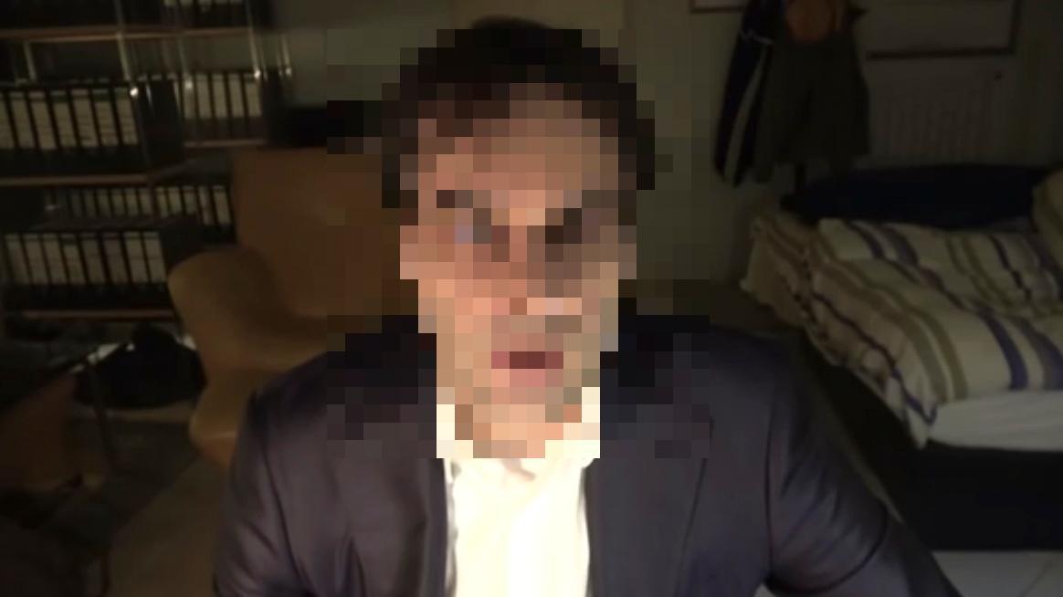 Tobias R. veröffentlichte auf Youtube ein Video, in dem er seine Verschwörungstheorien verbreitete.