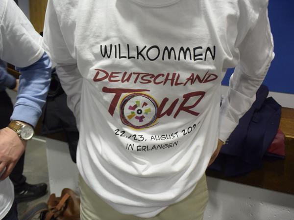 Dieses T-Shirt machte im Stadtrat gleich die Runde.