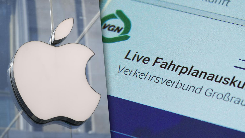 Wie aktuell sind die ÖPNV-Daten in Apples Karten-App? Zweifel sind angemessen, sagt die VGN.