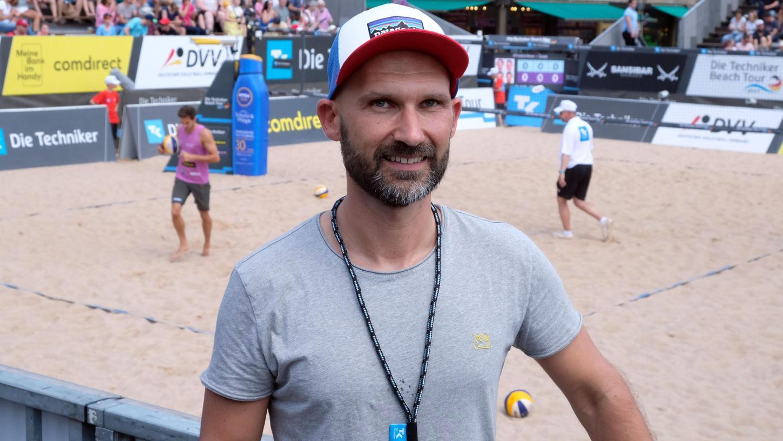 Auch das Beachvolleyball-Turnier organisiert Christopher  jedes Jahr.