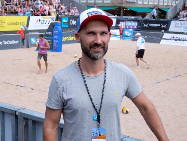 Christopher Dietz, Geschäftsführer von werk:b events, veranstaltet in Nürnberg unter anderem die Festivals am Airport.