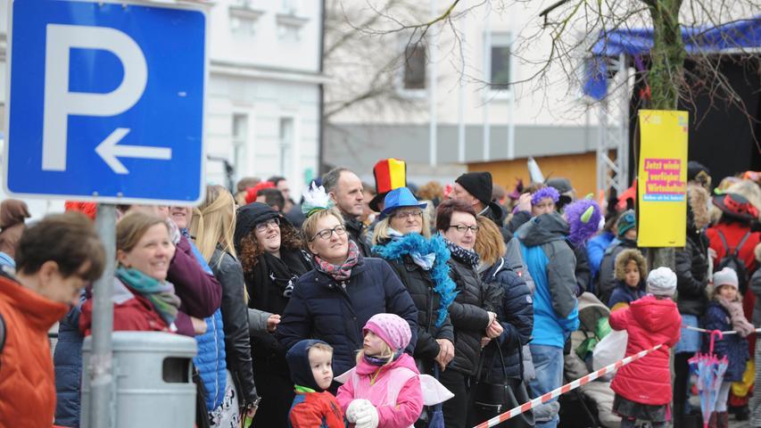 Höchstadt Fasching 2020..Gaudiwurm durch die..Innenstadt..Foto Roland G.Huber