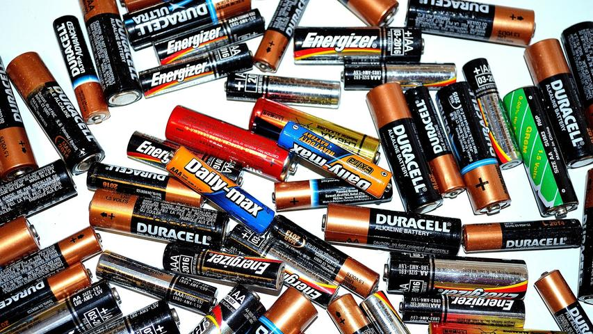 ... sollten natürlich auch genügend Reservebatterien vorrätig sein.