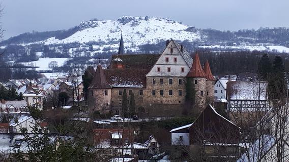 Schnee: Der Landkreis Forchheim ganz in weiß