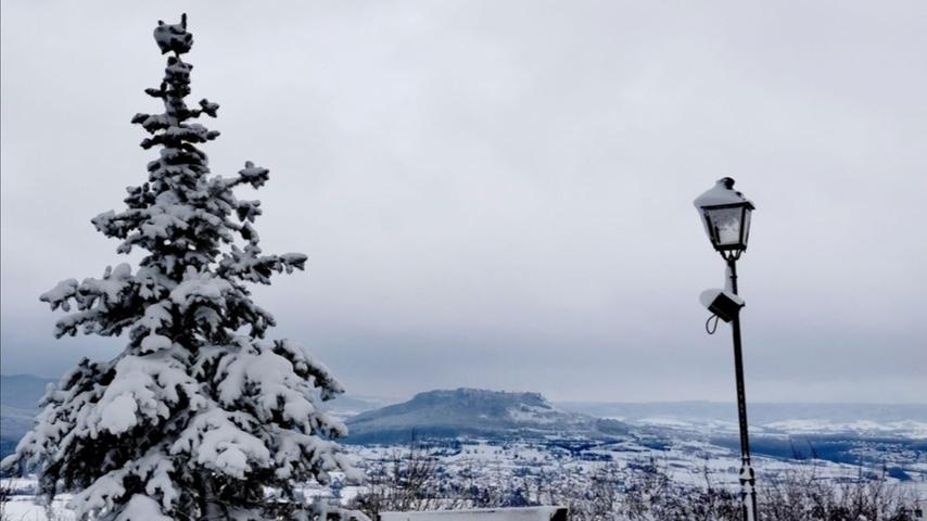 Winterwonderland Fränkische Schweiz.