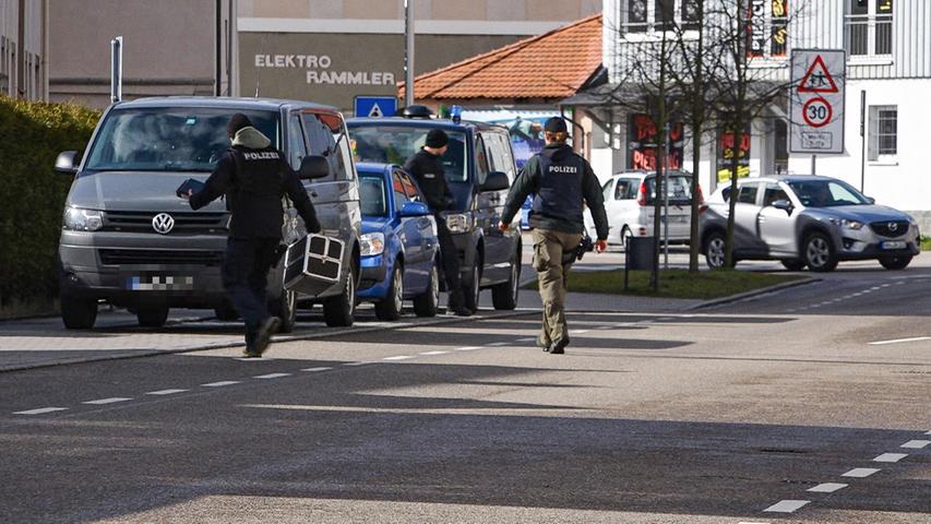 Messerangriff in Ansbach: Polizei schnappt 33-Jährigen