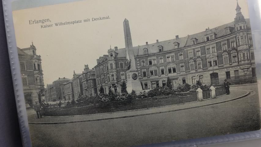 Der einstige Kaiser Wilhelm Platz - heute Lorleberg-Platz