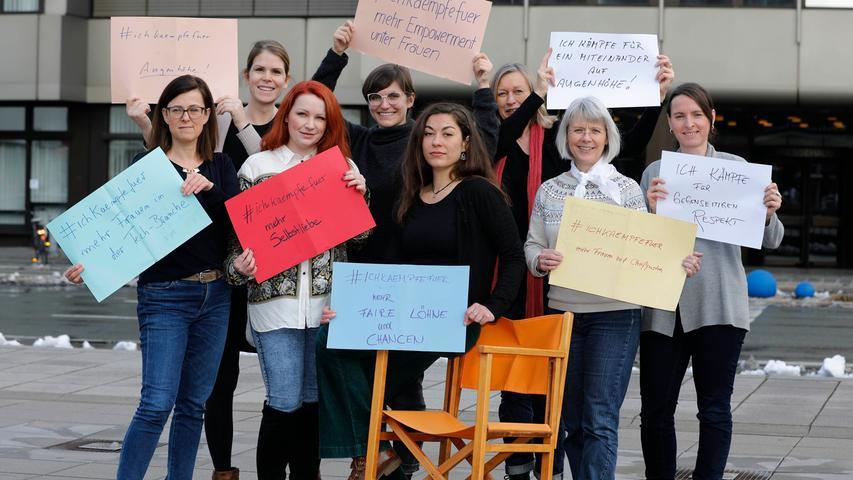 Es gibt viel, wofür es sich am Weltfrauentag (und auch an allen anderen Tagen) zu kämpfen lohnt: Auch Journalistinnen des Verlags Nürnberger Presse haben ihre Vorstellungen formuliert.