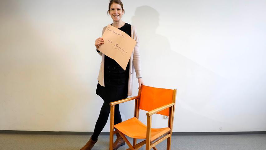 Die stellvertretende Leiterin am Newsdesk der Nürnberger Nachrichten, Franziska Holzschuh, kämpft für mehr Augenhöhe.