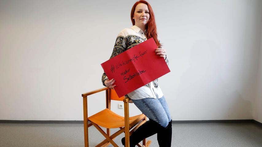 Meike Kreil, von nordbayern.de, findet mehr Selbstliebe wichtig.