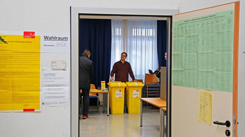 Trotz der Corona-Krise finden die Kommunalwahlen statt.