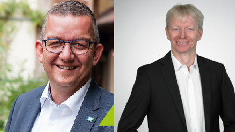 Thomas Kraußer oder Gerhard Pfeiffer? Wer wird der neue Bürgermeister von Leinburg?