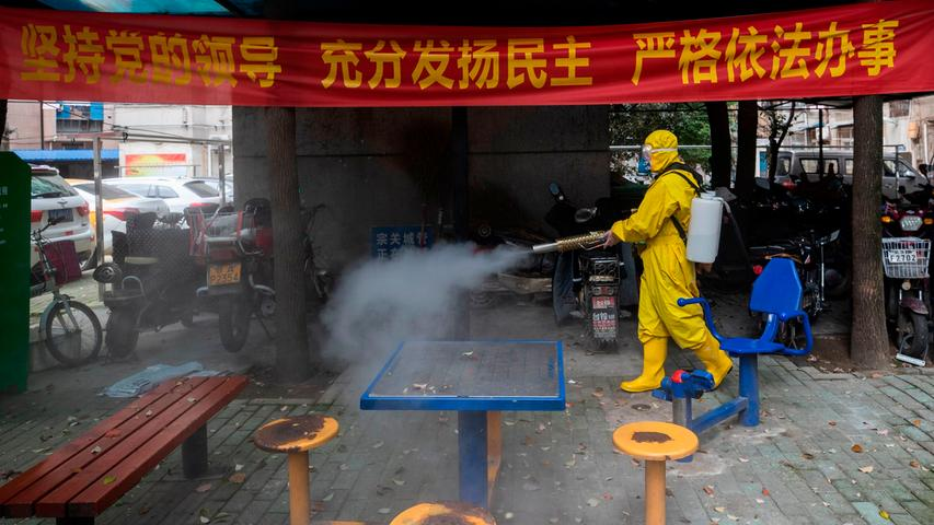 Von Wuhan in die Welt: Die Ausbreitung der Corona-Pandemie