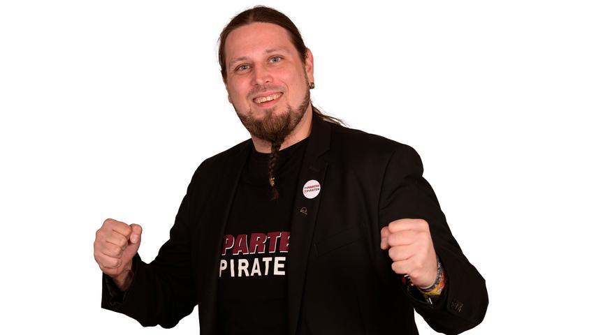 Florian Betz (Die PARTEI/Piraten) Beruf: Anwendungsentwickler Erhaltene Stimmen: 14.278.