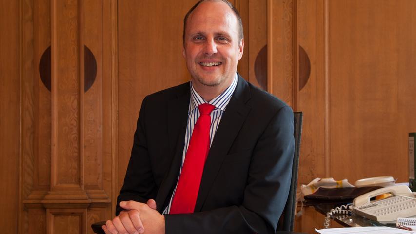 Ist als zweiter Bürgermeister beliebt in der Stadt: Christian Vogel. Erhaltene Stimmen: 74.231.