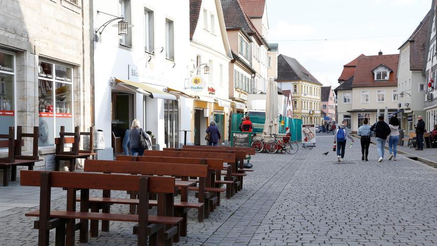 Ausgangsbeschränkungen: Gespenstische Stille in fränkischen Städten