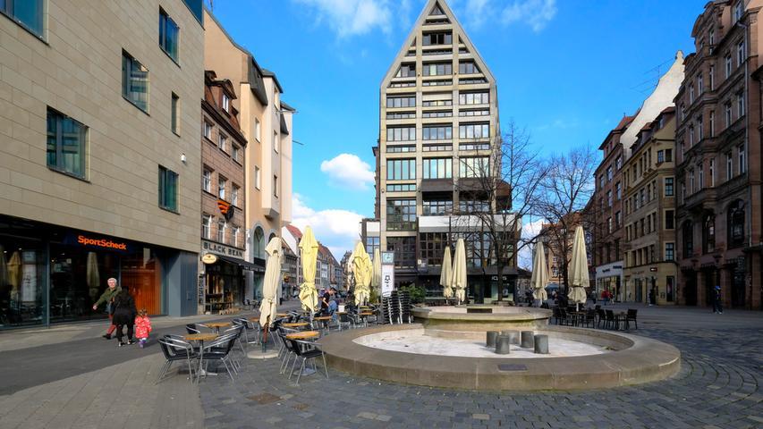 Geschlossene Läden, gesperrte Spielplätze: So leer ist Nürnberg in der Corona-Krise