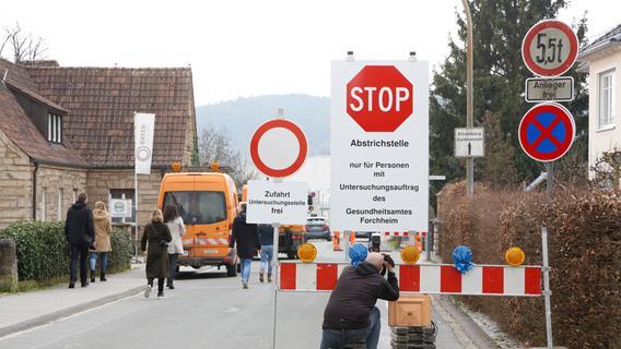 Exklusiver Einblick in die Corona-Teststation in der Ruhalmstraße Forchheim