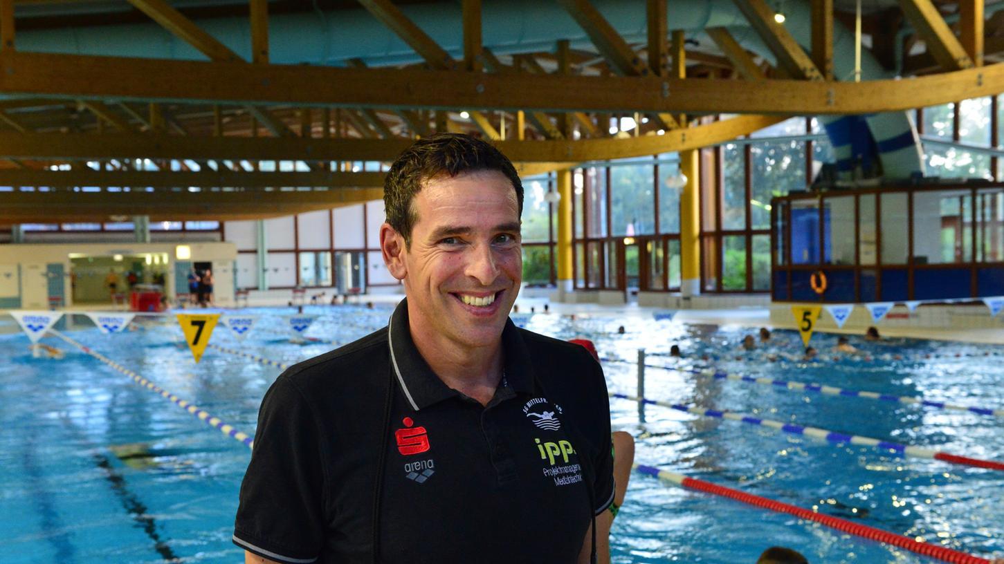 Erfolgstrainer seit mehr als 25 Jahren: Roland Böller hat in Erlangen zahlreiche Spitzenschwimmer trainiert.