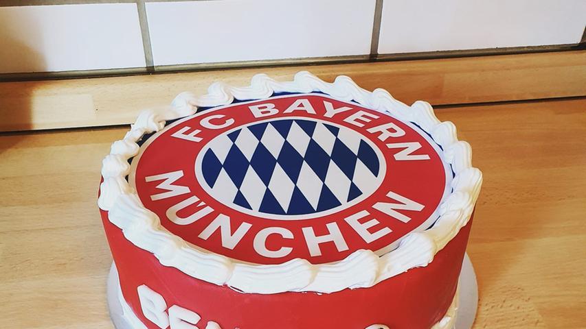 Wo der FCN ist, sind die Bayern nicht weit. Zumindest bei den Torten.