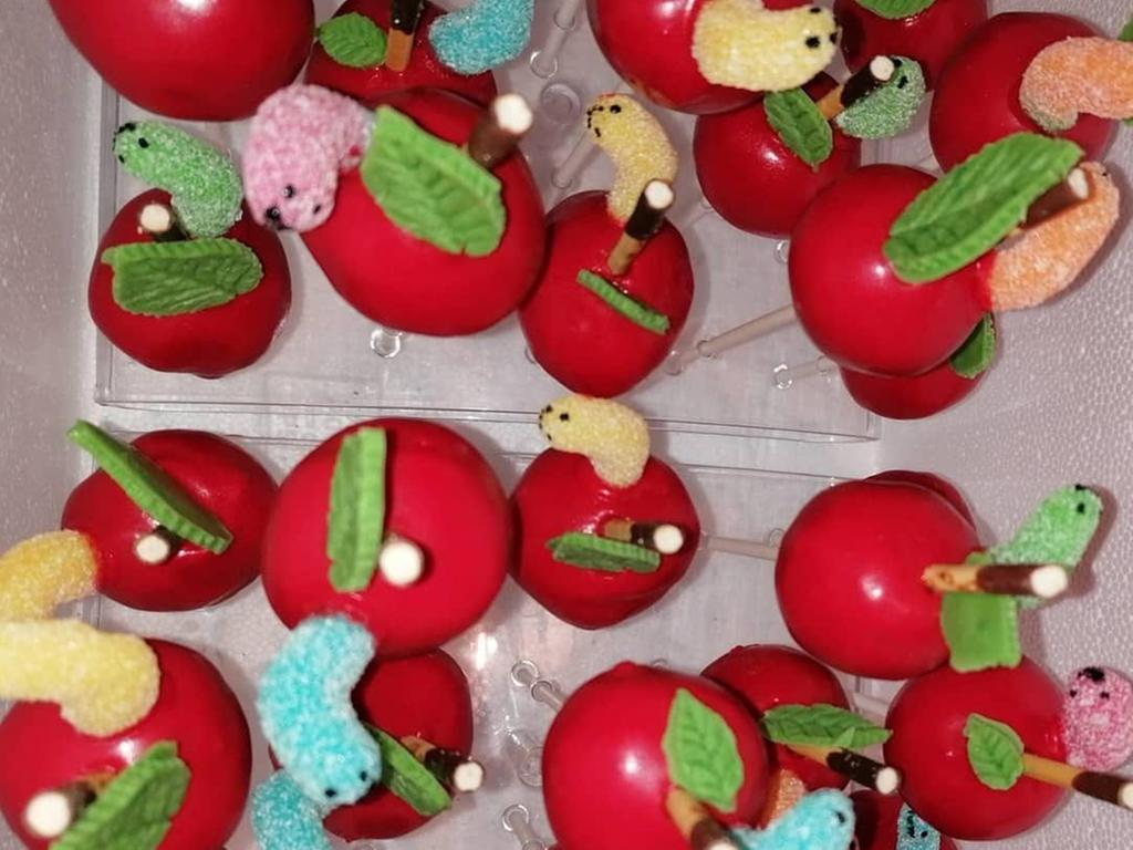 Die Cakepops von Moni Mi stechen richtig ins Auge.