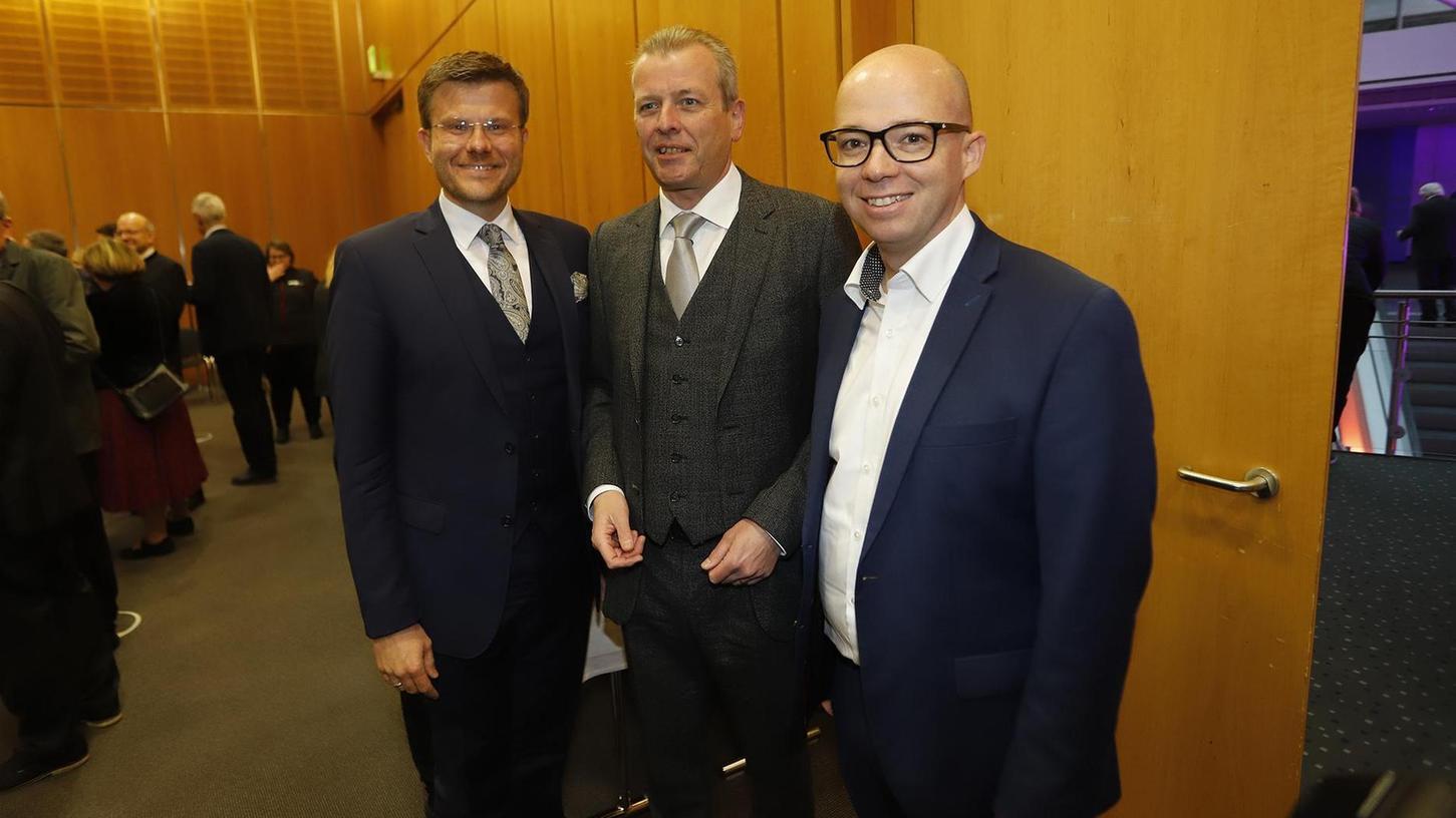 Einer von ihnen wird Ulrich Malys (SPD) Nachfolger: Am Sonntag gehen Parteikollege Thorsten Brehm (rechts) und CSU-Kandidat Marcus König (links) in die Stichwahl. Von der Grünen-Spitze gab es derweil keine Wahlempfehlung für einen der Kandidaten.