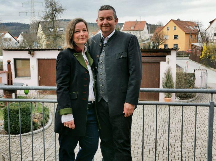 Thomas Kraußer gemeinsam mit seiner Frau Andrea.