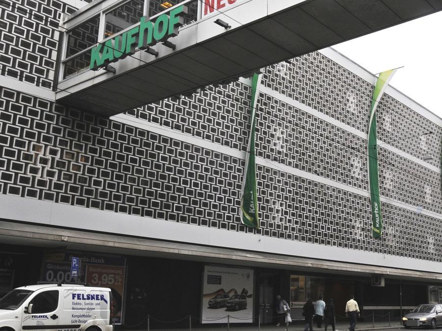 Der Kaufhof am Aufseßplatz soll nun schließen.