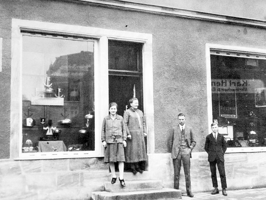Ein Bild von 1930, damals führte Babette Prechtel die Geschäfte.