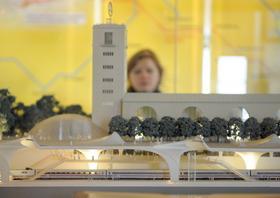 Ein Modell von Stuttgart 21: Die geplanten Ausschachtungen und Bohrungen wecken bei vielen Stuttgartern Ängste. Auch in Franken sorgen zahlreiche verkehrspolitische Projekte für Unmut.
