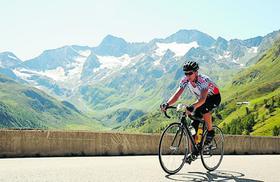 Mancher Streit lässt sich am besten auf einer Radtour verarbeiten.
