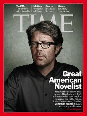 Das Time Magazine widmete Jonathan Franzen sogar eine Titelgeschichte.