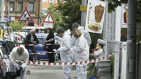 Das NSU-Opfer Ismail Yasar betrieb einen Dönerstand in der Scharrerstraße. Auch an diesen Tatort führte die Tour der Angehörigen.