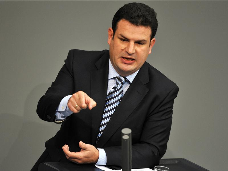 Hubertus Heil kehrt zurück auf den Posten des SPD-Generalsekretärs