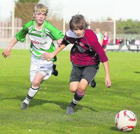 """Die meisten Spieler, die in den """"U15""""-Regionalliga-Derbys zwischen dem 1.FC Nürnberg und der SpVgg Greuther Fürther aufeinandertreffen, stammen aus der Region."""