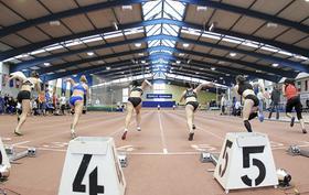 Und los: Die bayerische Leichtathletik startet durch, in Gunzenhausen, Gambach, Herzogenaurach, Bad Kötzting und auch in der schmucken Fürther Halle am Finkenschlag.